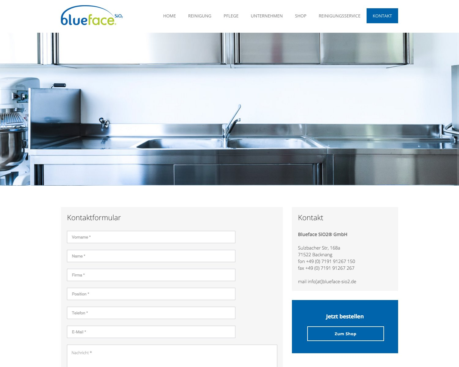 Case Study – Blueface SiO2
