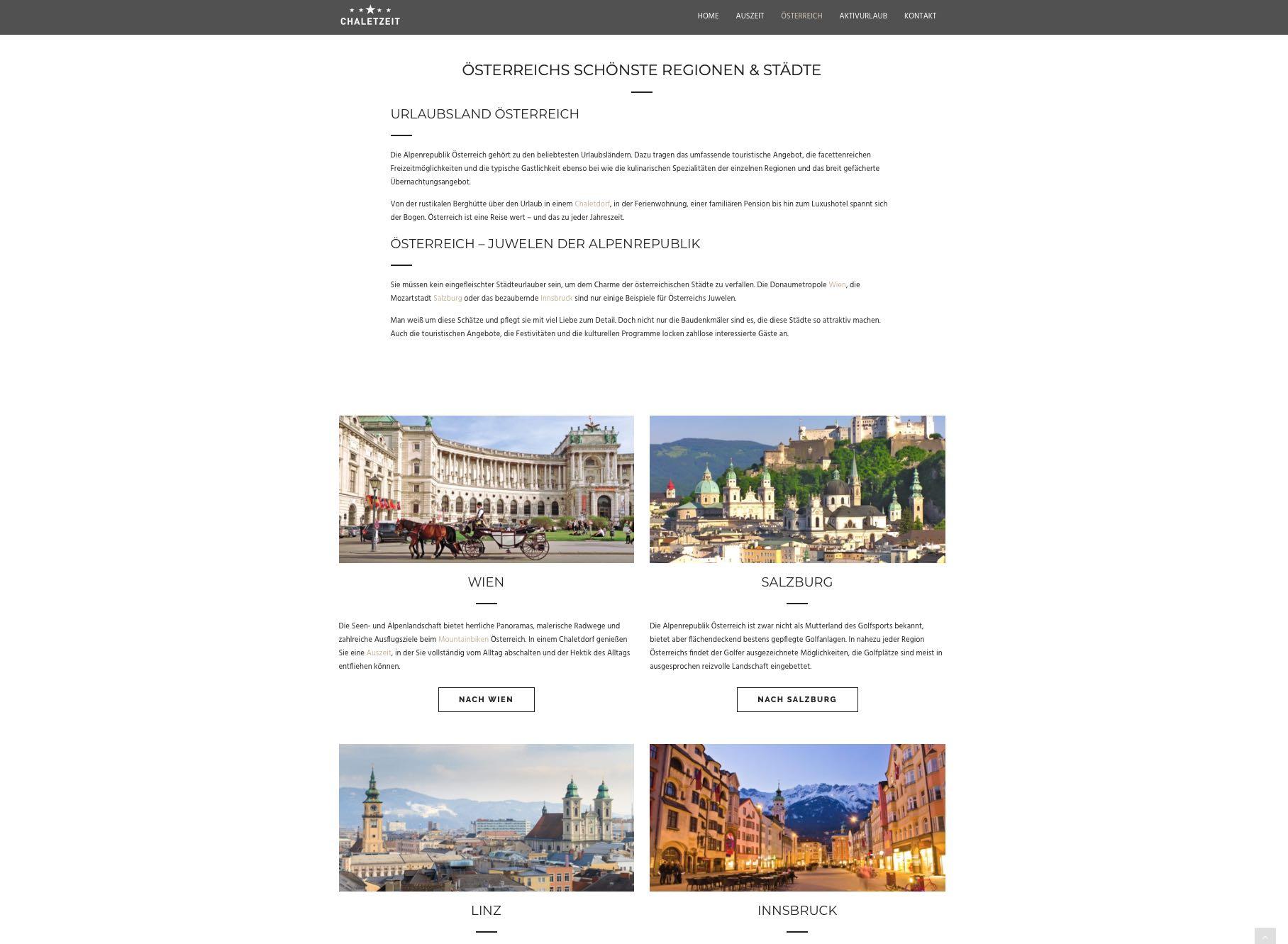 Case Study - ChaletZeit Mumme Digitalagentur