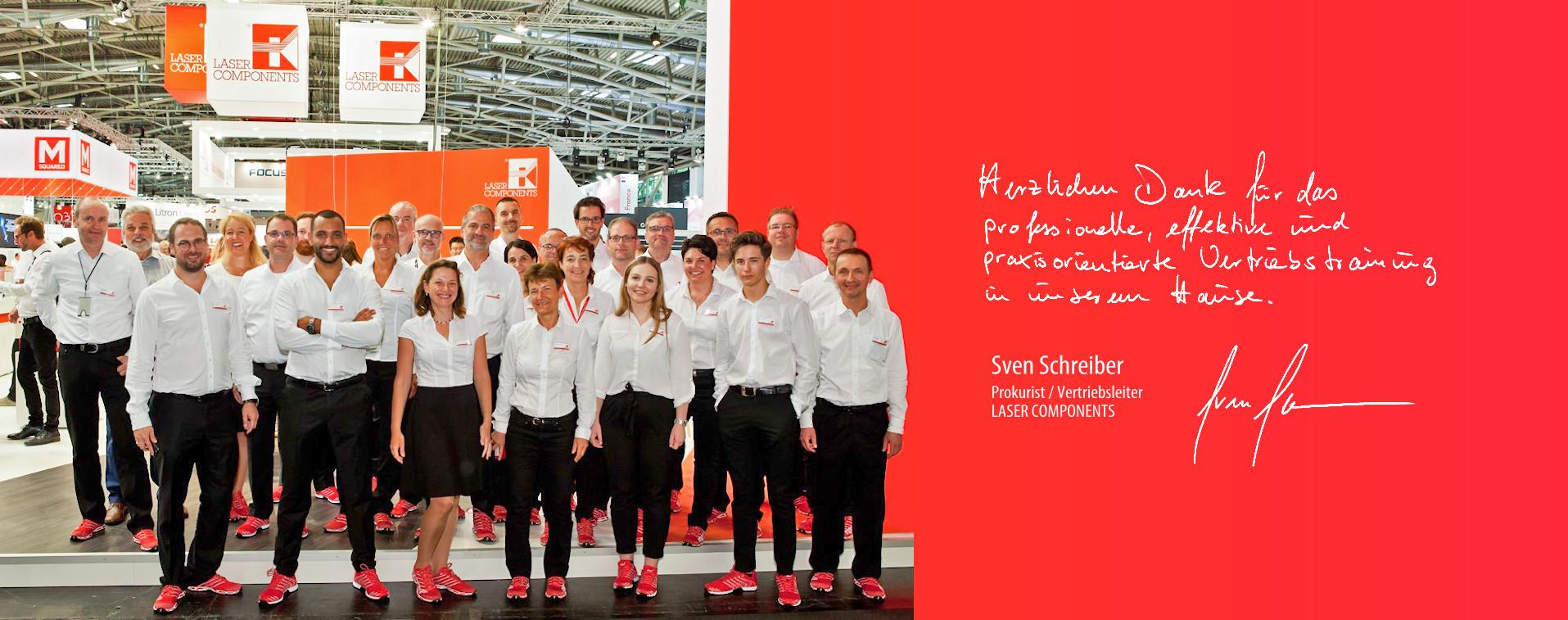 Vertriebstraining Mumme & Partner in Stuttgart und München